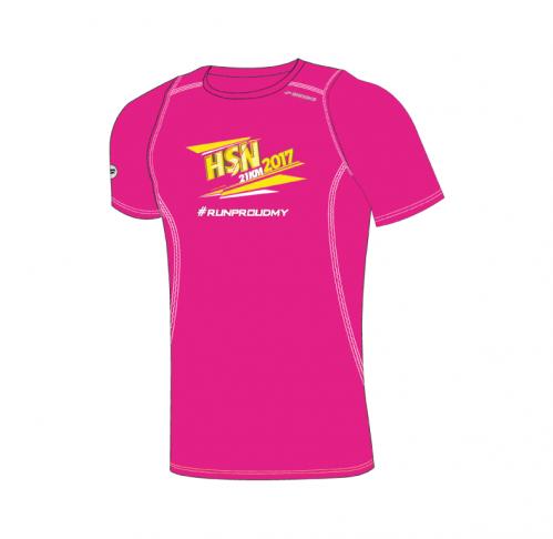 Running T-Shirt (Fuchsia Pink) - HSN 21km