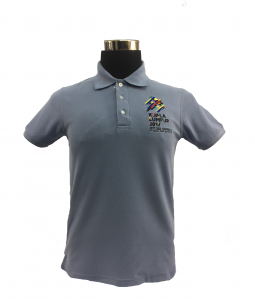 KL2017 COLLAR TSHIRT (Honeycomb/BlueGrey)