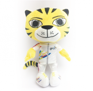 "KL2017 OFFICIAL ""RIMAU"" SOFT TOY"