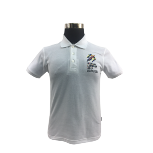 KL2017 COLLAR TSHIRT (Honeycomb/White)