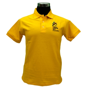 KL2017 COLLAR TSHIRT (Honeycomb/Dark Yellow)
