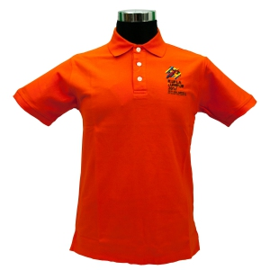 KL2017 COLLAR TSHIRT (Honeycomb/Orange)
