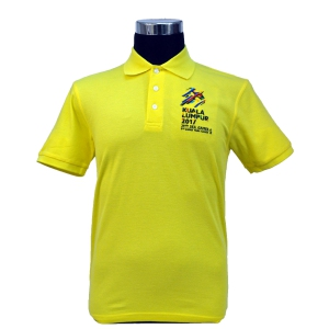 KL2017 COLLAR TSHIRT (Honeycomb/Yellow)